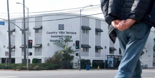 Country Villa Terrace Assisted Living and Healthcare Center on West Pico Boulevard in Los Angeles. (Photo by Dean Musgrove, Los Angeles Daily News/SCNG)