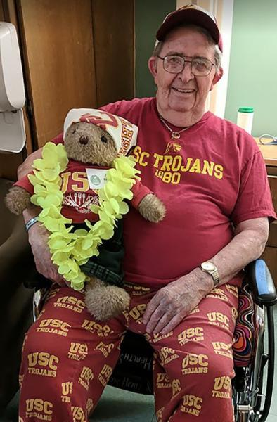 Dr. William Stark, a retired dentist who had several medical issues, died on Nov. 22 after he and his wife endured months of pandemic visitation restrictions at his Arcadia nursing home.  (Courtesy Photo)
