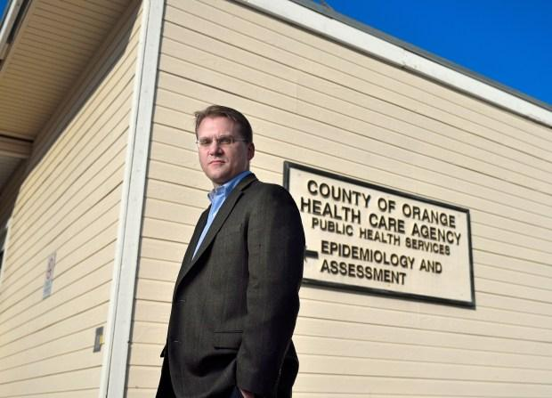 Dr. Matthew Zahn, medical director of communicable disease control at the Orange County Health Care Agency. (Photo by Leonard Ortiz, Orange County Register/SCNG)