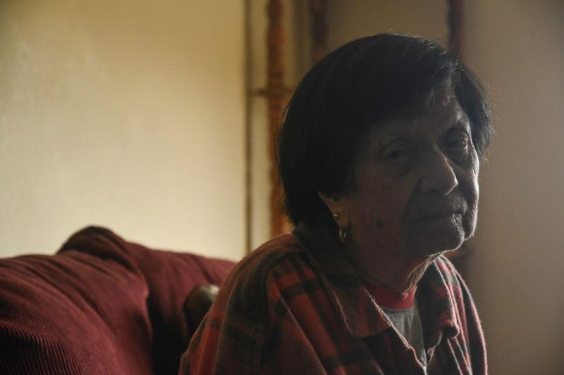 Martinez's landlord told her to leave Friday or she'll be forced out by police. Aug. 7, 2020. Ayrton Ostly/The Californian