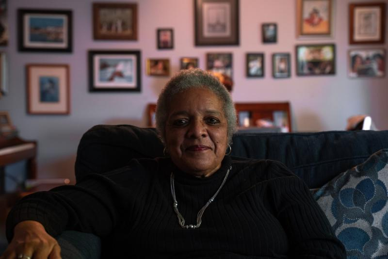 After getting sick with COVID-19, Maria Herndon says Jesus gave her an ultimatum and she chose life — and the vaccine. Credit: Louis Bryant III / OBSERVER