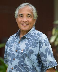 Neal Palafox is a physician and professor at the University of Hawaii. Courtesy of UH