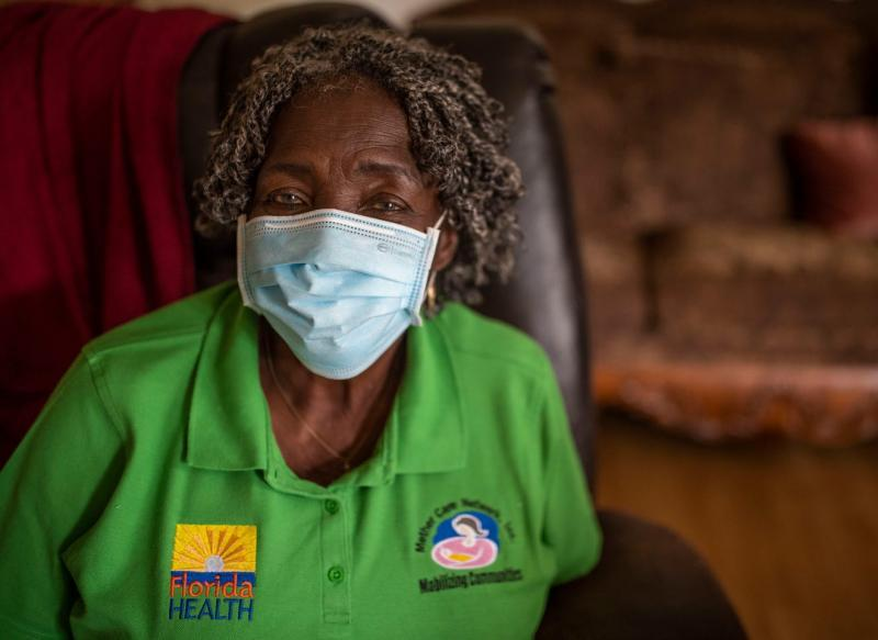 Arrie Battle, 78, a community volunteer and lifelong resident of Gadsen Country, has been helping folks in Gadsden Country navigate health-care and live healthier lives for decades. Alicia Devine/ Tallahassee Democrat