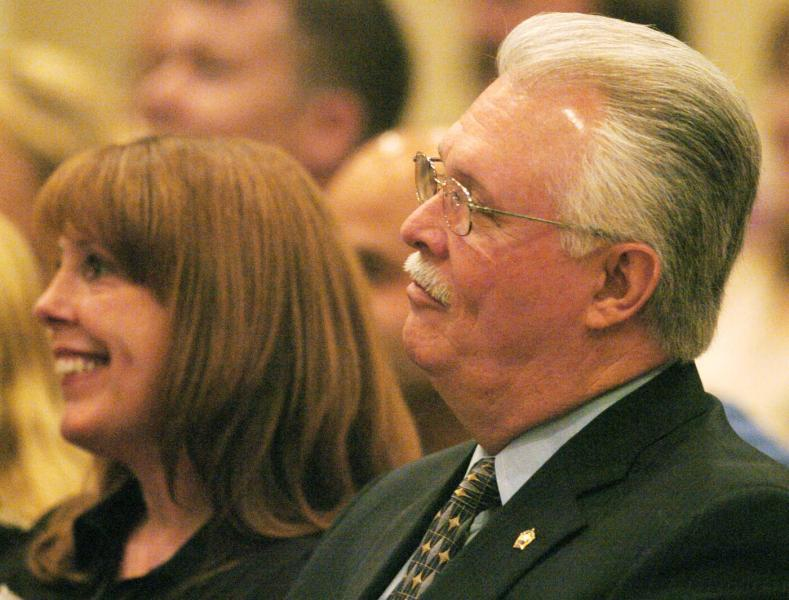 """She did not return calls or emails from the Times.  In his statement, Nocco said: """"I am very proud of my wife and the career she has built for herself.""""  In the spring of 2011, White announced that he would be retiring before his term ended to spend more time with his family. As governor, Scott got to choose his replacement."""
