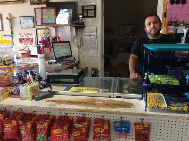 Ernesto Carrillo owns Carrillo's Mexican Store in Redding. He's one of the few people in Shasta County translating important information into Spanish for the public.