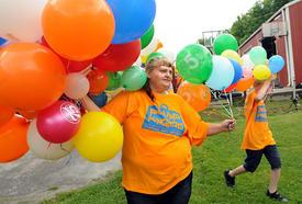 Melisa Ferrell has reason to celebrate Friday. As of Friday morning, she has lost 123 pounds over the past year.
