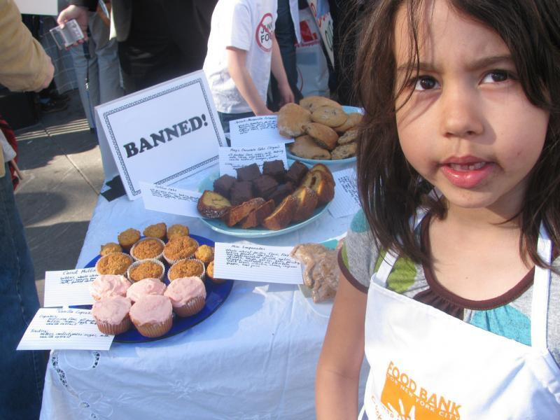 bake sale, tammy worth, reporting on health, school lunch, food policy, nutrition, obesity
