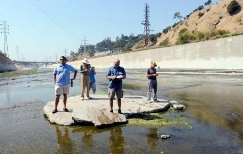 los angeles river, reporting on health, environmental health