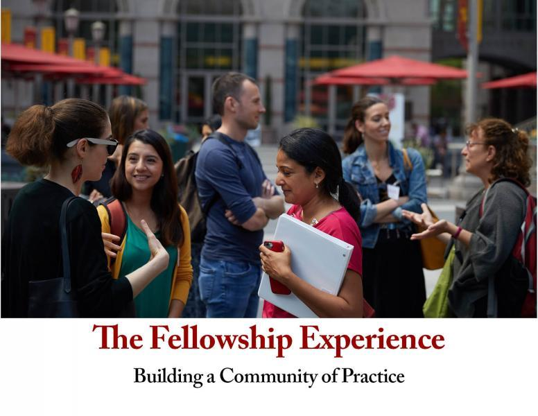 National Fellows gathered on the USC campus