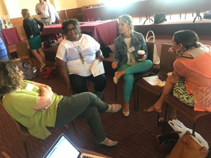 Group of fellows in discussion