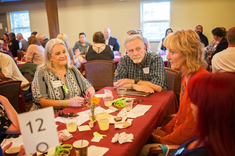 Event participants discussed challenges and opportunities around suicide prevention in Amador. Photo: Vanessa Nelson.