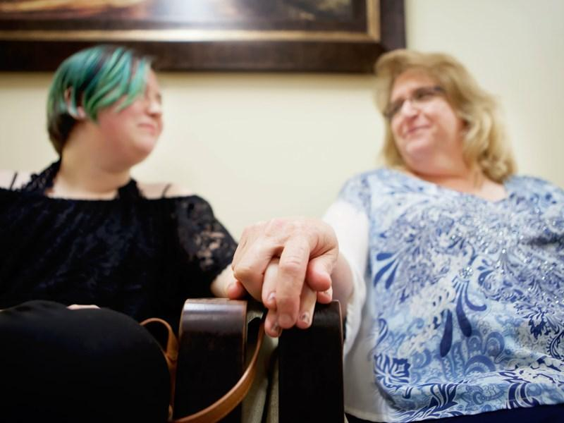 Liz Larson and her mom, Stacey Larson, now have a plan to manage Liz's depression and anxiety.