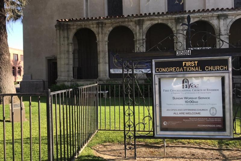 The First Congregational Church in Downtown Riverside holds the Riverside Free Clinic every other Wednesday.