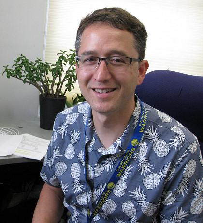 Dr. Alexander Smith, UC San Francisco  palliative care specialist and researcher