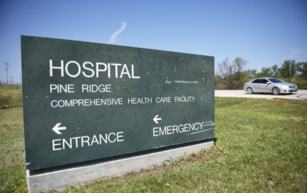 Pine Ridge Hospital Wednesday, Aug. 1, in Pine Ridge. (Photo: Briana Sanchez / Argus Leader)