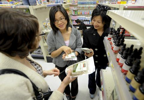 Fellows visit a legal source of medications in East Los Angeles, Farmacias Remedios, where commercially packaged  herbal remedies are sold.