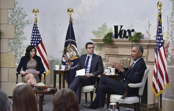 When former Vox health policy reporter Sarah Kliff and founder Ezra Klein interviewed President Obama at the White House in Janu