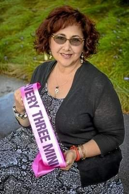 Anush Avejic is a two time cancer survivor. Photo by David Crane, Los Angeles Daily News