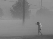Dust storms, like this one in Fresno, can help distribute the fungal spores that cause valley fever. (Photo: Craig Kohlruss/The